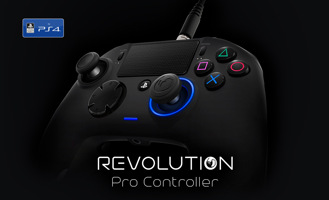 Review : Nacon Revolution Pro PlayStation 4 Controller (Updated with Video)